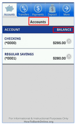 Academy Bank - Balance Check - Android