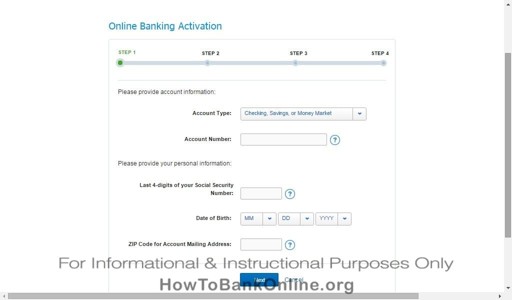BBVA Compass Online Banking Account Activation
