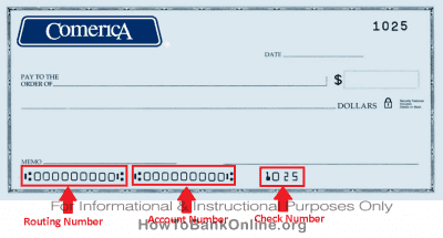 comerica bank routing number swift code how to bank online