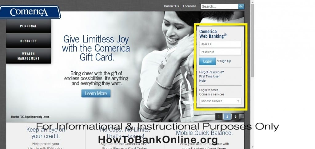 Comerica Online Banking Login