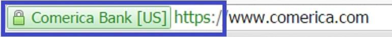 Comerica Secure Website