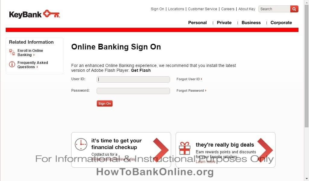 KeyBank Online Banking Login