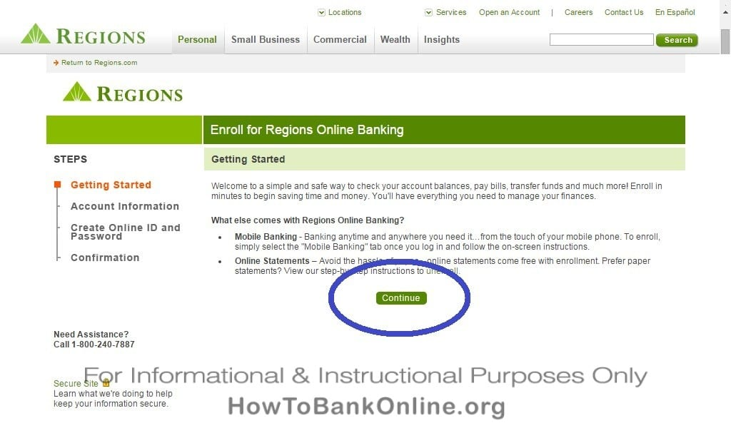 Regions Bank Enroll Online Banking