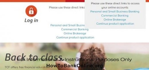 TCF Open an Account Online