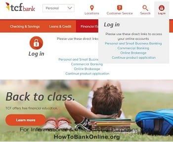 TCF Open an Account Online