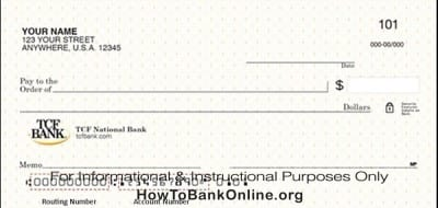 TCF Bank Routing and Transit Number | How To Bank Online